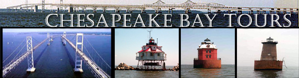 sandy point, thomas point, bloody point lighthouses and chesapeake bay bridge cruises and tours